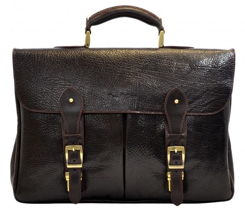 Мужской кожаный портфель Tony Bellucci (Италия) 13248 - фото 1