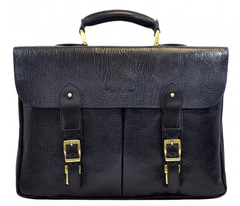 Мужской кожаный портфель Tony Bellucci (Турция) 13249 - фото 1
