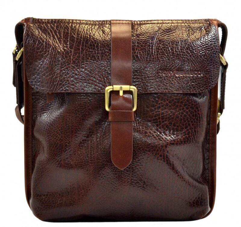 Мужская кожаная сумка Tony Bellucci (Италия) 13259 - фото 1