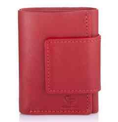 Женский кожаный кошелек на магните Grande Pelle