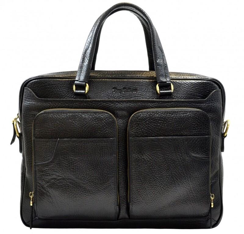 Мужской кожаный портфель Tony Bellucci (Италия) 13250 - фото 1