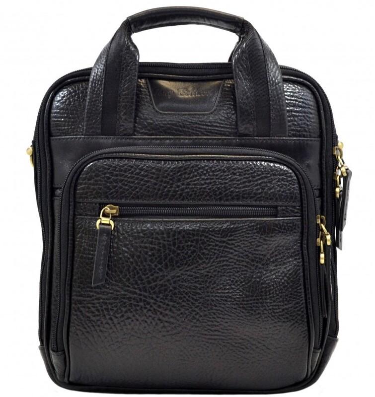 Мужская кожаная сумка Tony Bellucci (Италия) 13260 - фото 1