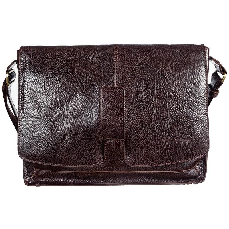Мужская кожаная сумка Tony Bellucci (Италия) 17398 - фото 1