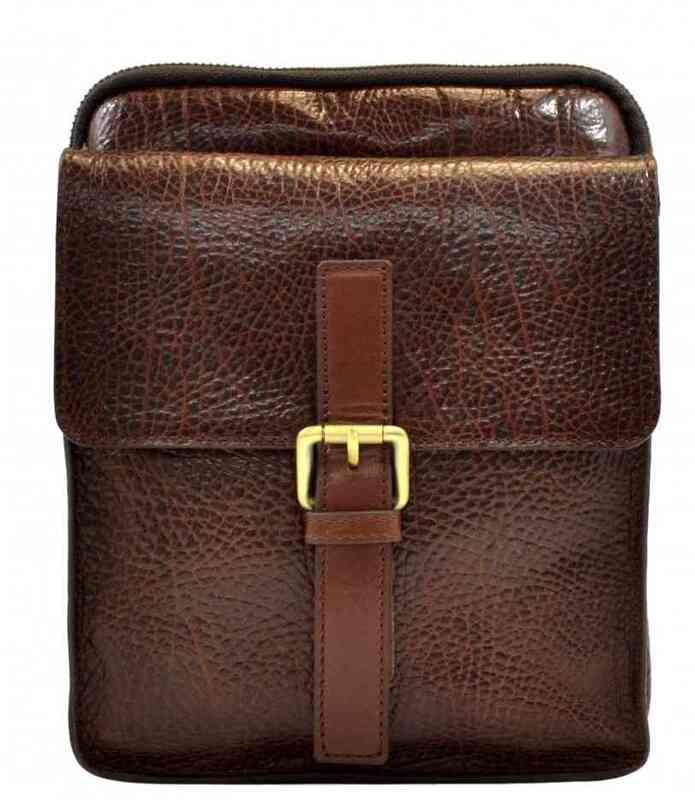 Мужская кожаная сумка Tony Bellucci (Италия) 13262 - фото 1