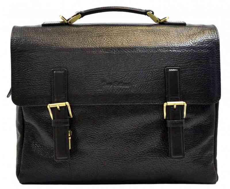Мужской кожаный портфель Tony Bellucci (Италия) 13252 - фото 1
