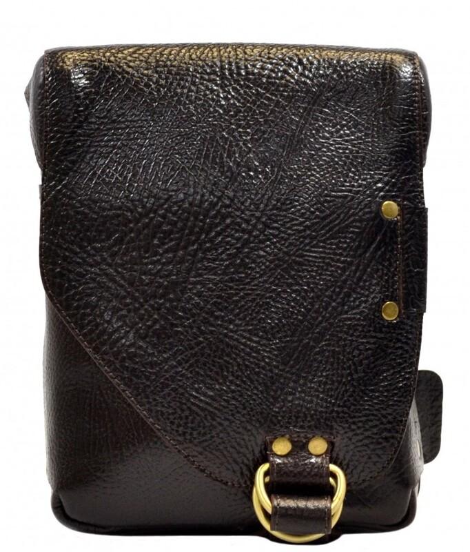 Мужская кожаная сумка Tony Bellucci (Италия) 13265 - фото 1