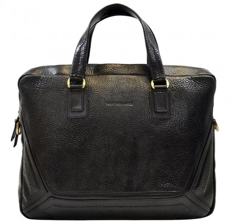 Мужской кожаный портфель Tony Bellucci (Италия) 13255 - фото 1