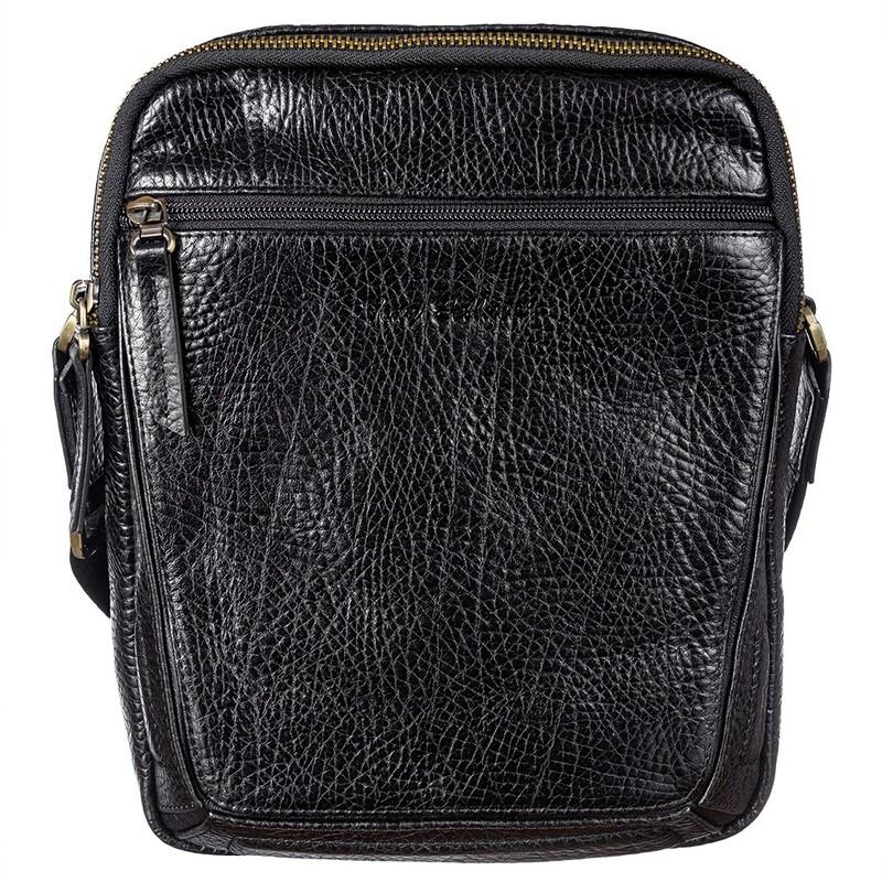 Мужская кожаная сумка Tony Bellucci (Италия) 17402 - фото 1