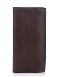 Кошелек мужской кожаный на магнитной кнопке Grande Pelle