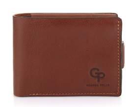 Мужской кожаный кошелек с монетницей Grande Pelle
