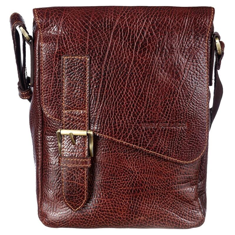 Мужская кожаная сумка Tony Bellucci (Италия) 17404 - фото 1