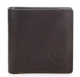 Кошелек мужской кожаный с монетницей Grande Pelle id