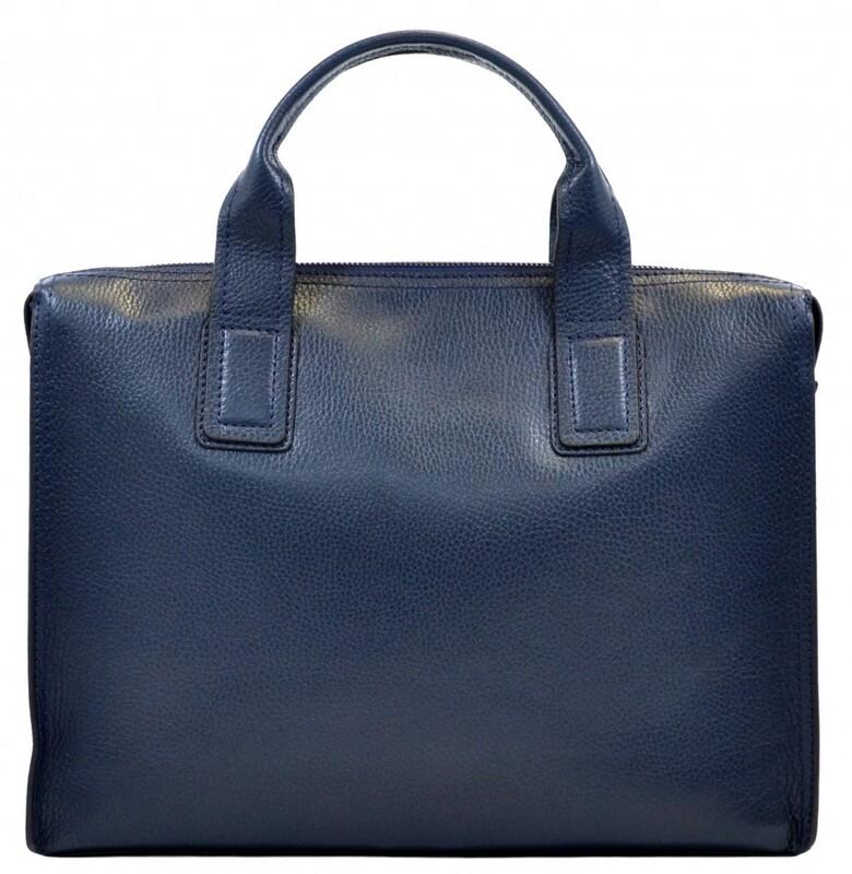 Мужской кожаный портфель Desisan 17656 - фото 1