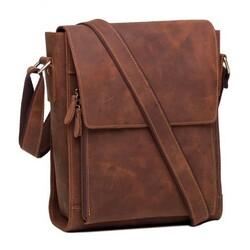 Мужская кожаная сумка через плечо 7055R ac56c1bd05744