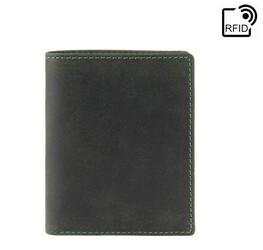 Мужской кожаный кошелек VISCONTI Hunter id