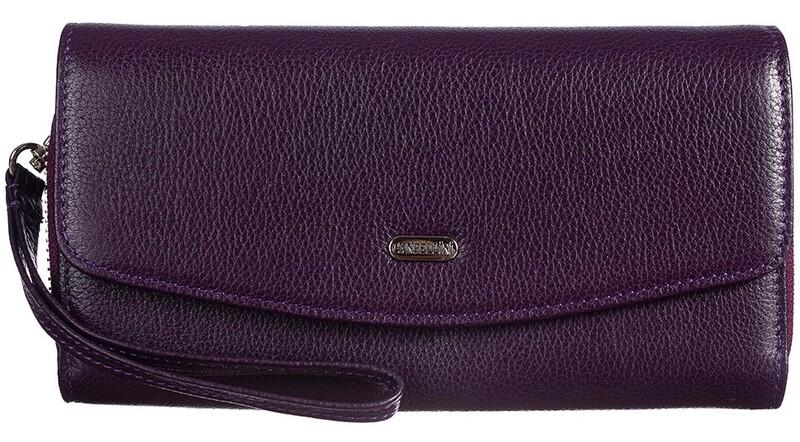 Женский кожаный кошелек Canpellini 17705 - фото 1