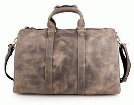 Дорожная кожаная сумка 7077J