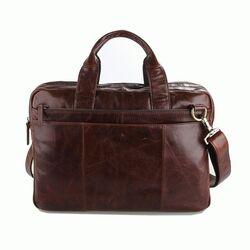 """Кожаная сумка для ноутбука 14,1"""" 7092-2C"""
