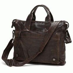 """Кожаная сумка для ноутбука 14"""" 7120C"""