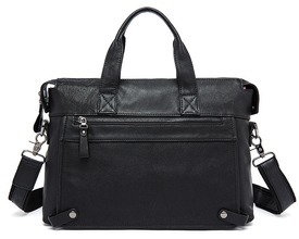 """Кожаный портфель для ноутбука 15"""" Buffalo Bags"""