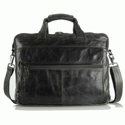 """Кожаная сумка Laptop Grey для ноутбука 15,6"""""""