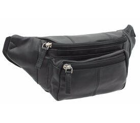 Кожаная мужская сумка на пояс VISCONTI