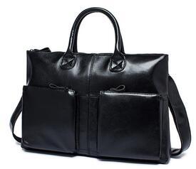 """Кожаный портфель мужской 7241A для ноутбука 15,6"""""""