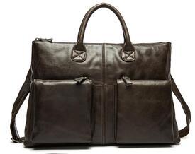 """Кожаный портфель мужской 7241C для ноутбука 15,6"""""""