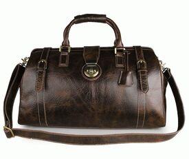 Дорожная кожаная сумка Buffalo Bags 7281C