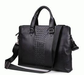 """Деловая кожаная сумка 7295A для ноутбука 14.1"""""""
