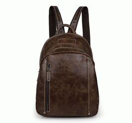 Кожаный коричневый рюкзак 7306B Buffalo Bags
