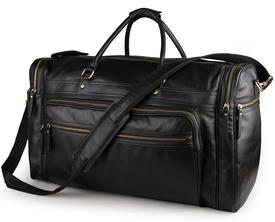 Дорожная кожаная сумка Buffalo Bags
