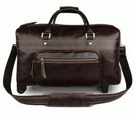 Дорожная кожаная сумка Buffalo Bags 7317C