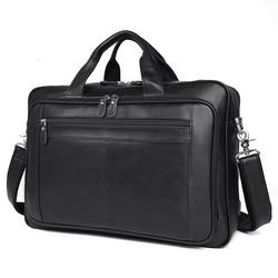 """Кожаная сумка для ноутбука 17"""" Buffalo Bags"""
