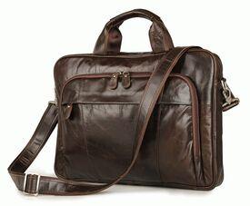 """Кожаная сумка для ноутбука 15"""" Buffalo Bags"""