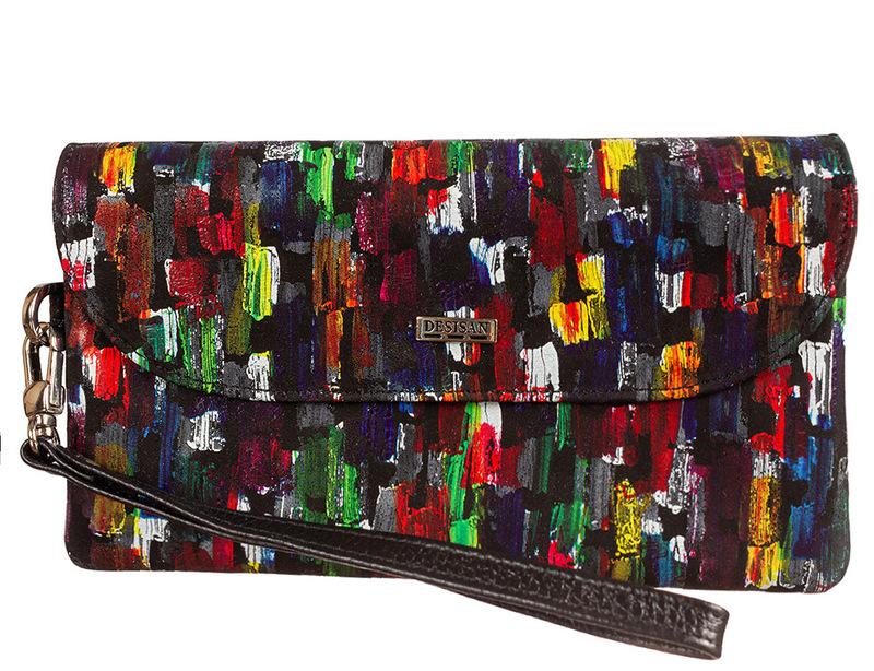 Женский кожаный кошелек Desisan 18949 - фото 1