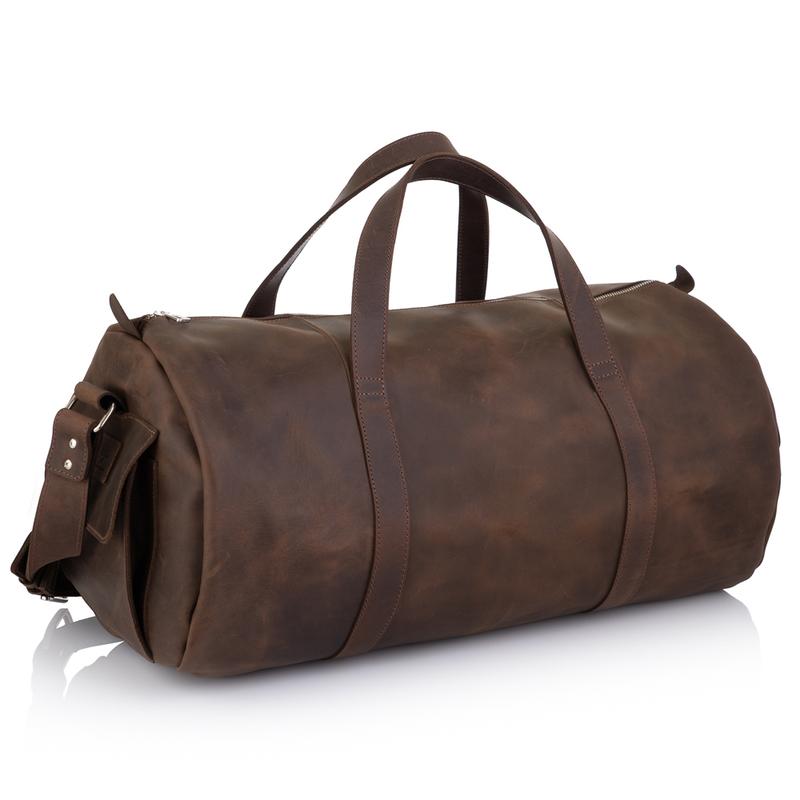 Дорожная кожаная сумка Grande Pelle 19488 - фото 1