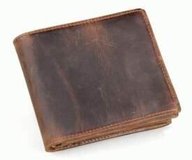 Мужской кожаный кошелек, портмоне 8056R Buffalo Bags id
