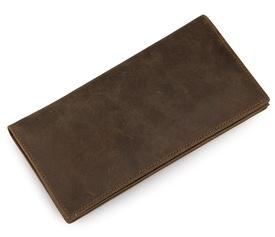 Кожаное вертикальное портмоне Buffalo Bags