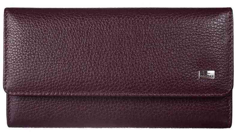 Женский кожаный кошелек Desisan 17623 - фото 1