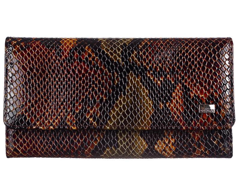 Женский кожаный кошелек Desisan 18958 - фото 1