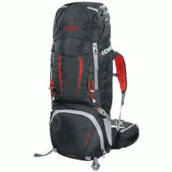 Рюкзак Ferrino Overland 50+10 Black/Red 8072