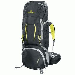 Рюкзак Ferrino Overland 65+10 Black/Yellow id