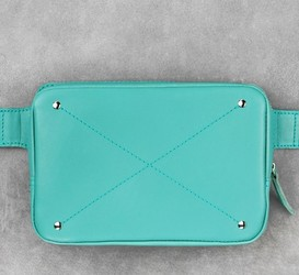 Кожаная сумка на пояс Blanknote Тиффани