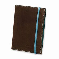 Обложка для паспорта BlankNote 1.0 Орех-тиффани + блокнот
