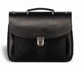 Кожаный мужской портфель Blamont