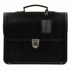 Кожаная черная сумка Blamont