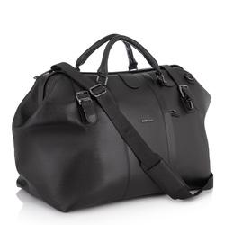 Дорожная кожаная сумка Giorgio Ferretti (Италия)