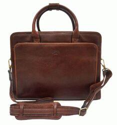"""Кожаная сумка для ноутбука 12""""-14"""" Katana (Франция)"""
