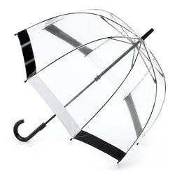 Зонт женский Fulton Birdcage-1 L041 Black White (Черно-белый)